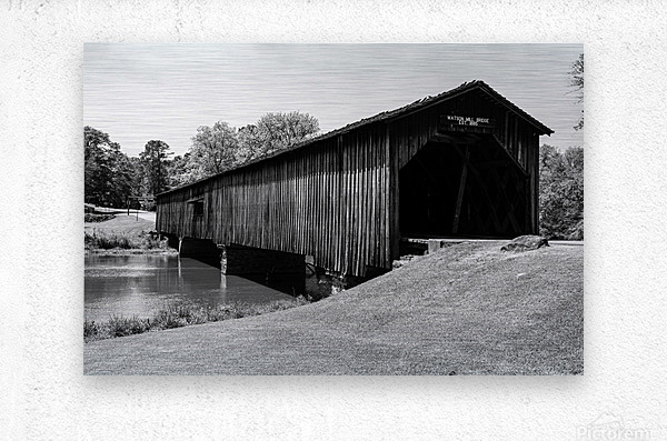Watson Mill Bridge State Park   Comer GA 06587  Metal print