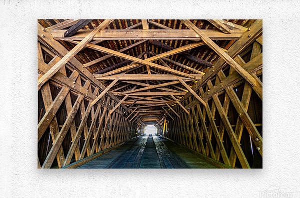 Watson Mill Bridge State Park   Comer GA 06956  Metal print