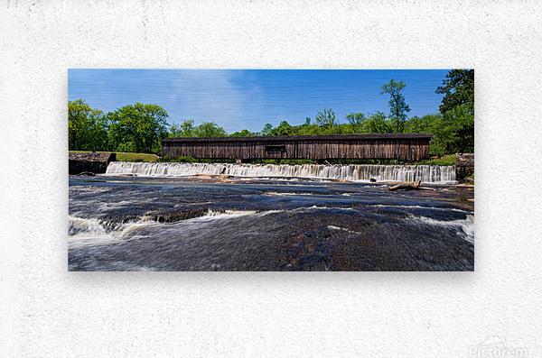 Watson Mill Bridge State Park   Comer GA 06668  Metal print