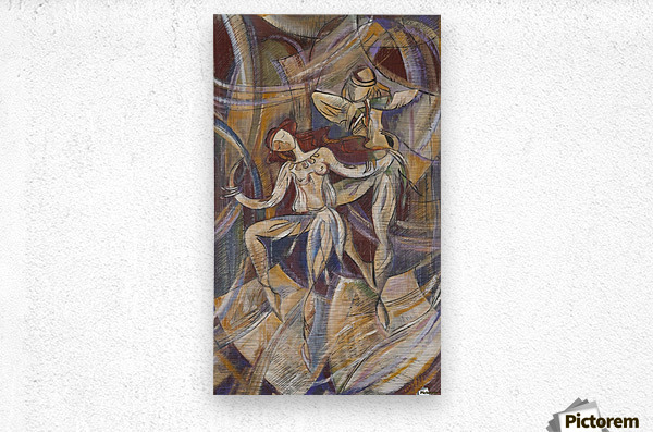 From the series of: Dance  Metal print
