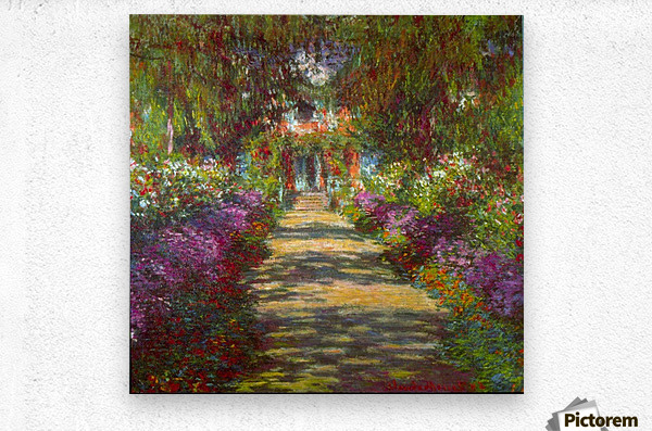 Giverny by Monet  Metal print