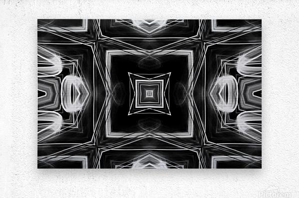 Digital art  Metal print