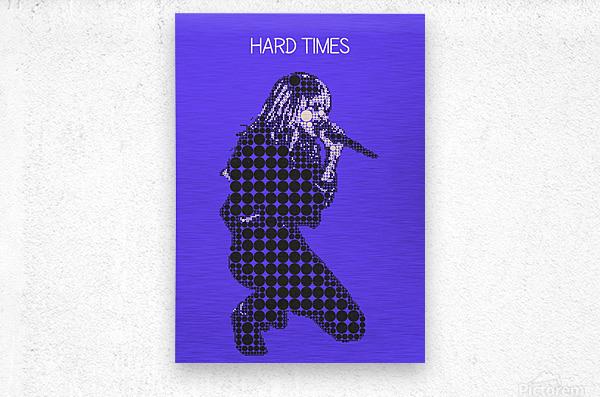 Hard Times   Paramore  Metal print
