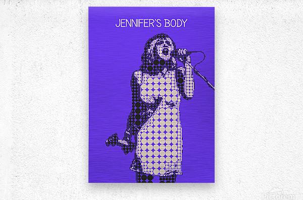 Jennifers body   Courtney Love   Hole  Metal print