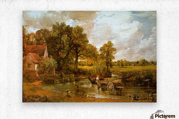 Hay Wain by Constable  Metal print