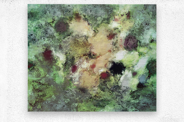 Sediment  Metal print