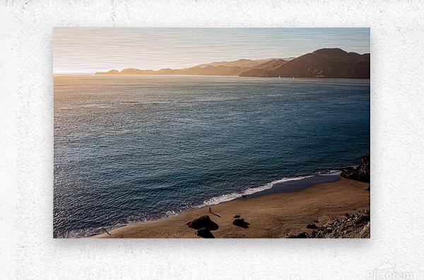 Marshall Beach Sunsets  Metal print