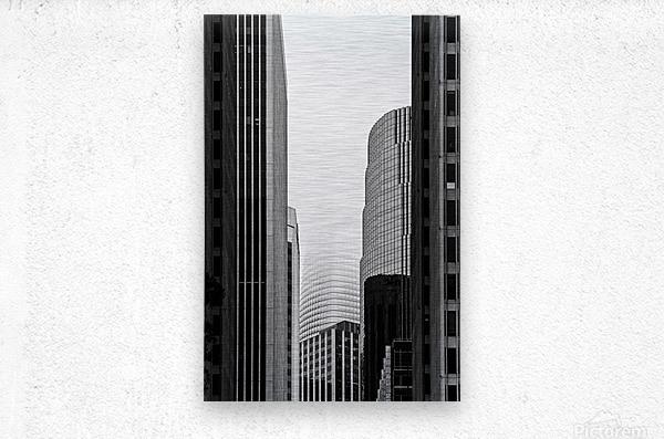Vanishing Tower  Metal print