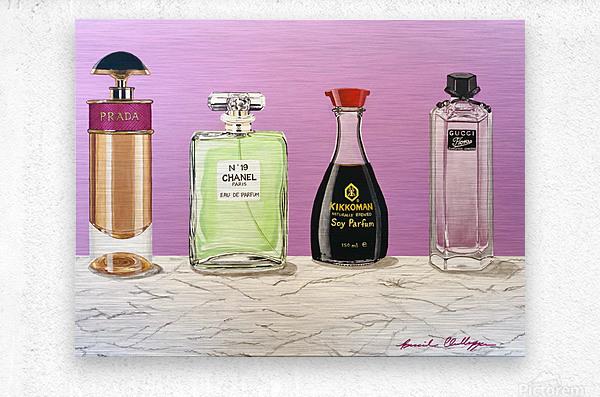 Soy Parfum  Metal print