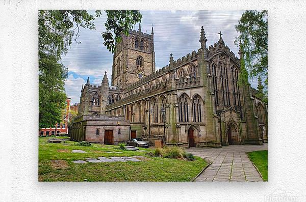Church of St Mary the Virgin   Metal print