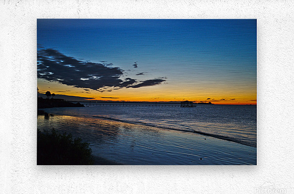 Sunrise Full Frame  Metal print