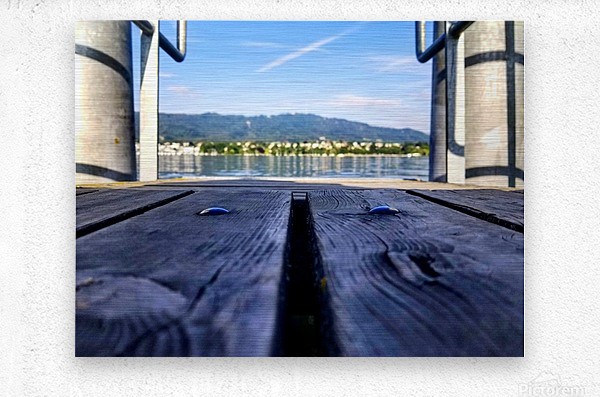 Zurich   Metal print