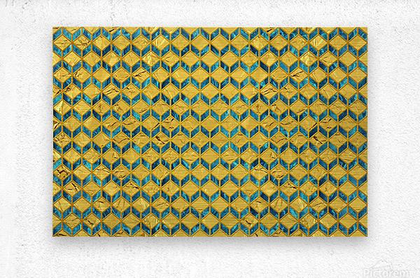 Geometric  XXXXX   Metal print