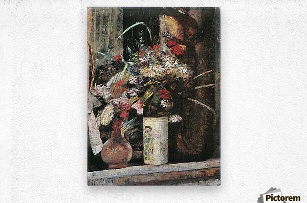 Blooms by Lesser Ury  Metal print
