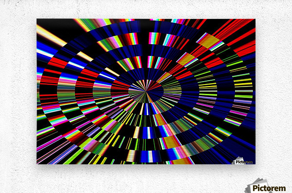 The Art of Circle 1  Metal print