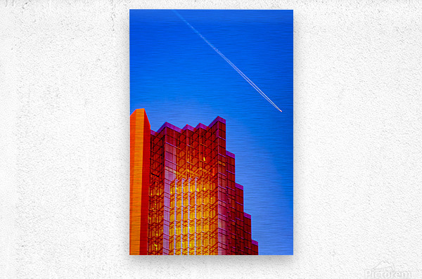 Escape From The Hive  Metal print