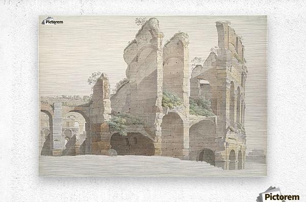 Het Colosseum te Rome  Metal print