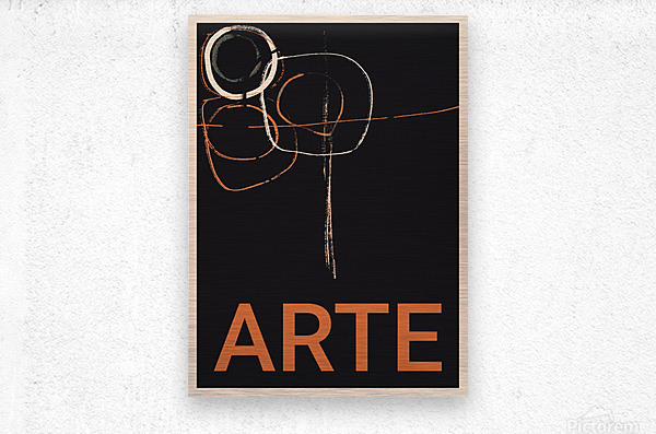ARTE -1   Metal print