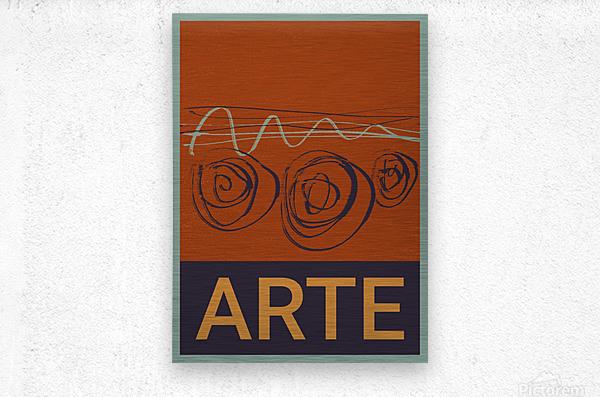 ARTE -7   Metal print