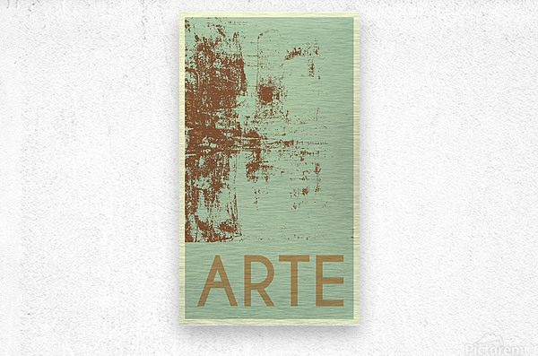 ARTE -25   Metal print