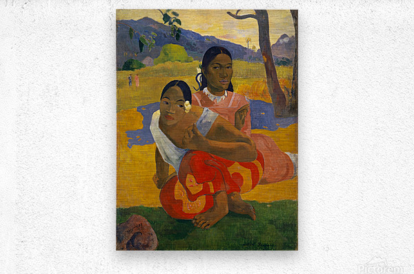 Paul Gauguin: When Will You Marry HD 300ppi  Metal print