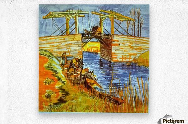 Langlois by Van Gogh  Metal print