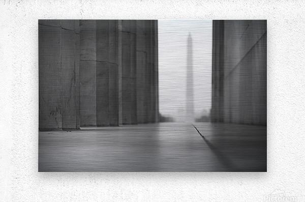 Ghost Memorials  Metal print