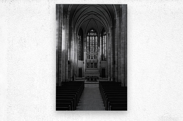 Trinity College Chapel  Metal print