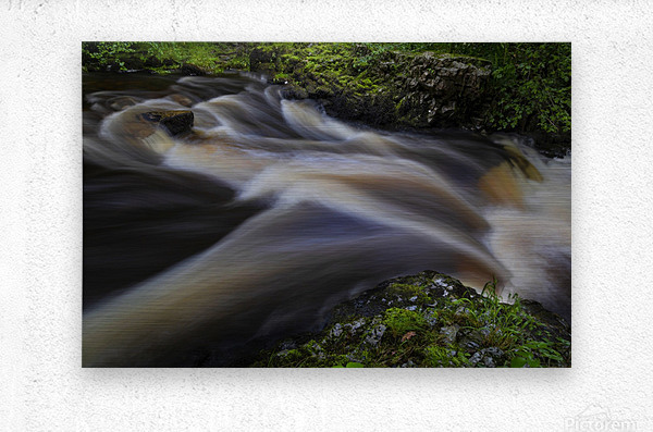 Waterfall Country at Pontneddfechan  Metal print