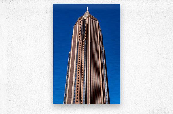 Bank of America Building   Atlanta GA 6630  Metal print