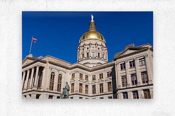 Georgia State Capitol Building   Atlanta GA 7220  Metal print