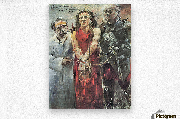 Ecce Homo 2 by Lovis Corinth  Metal print