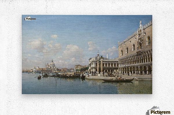 The Doge Palace and Santa Maria Della Salute  Metal print