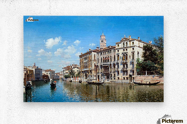 Palazo Cavalli-Franchetti, Venezia  Metal print