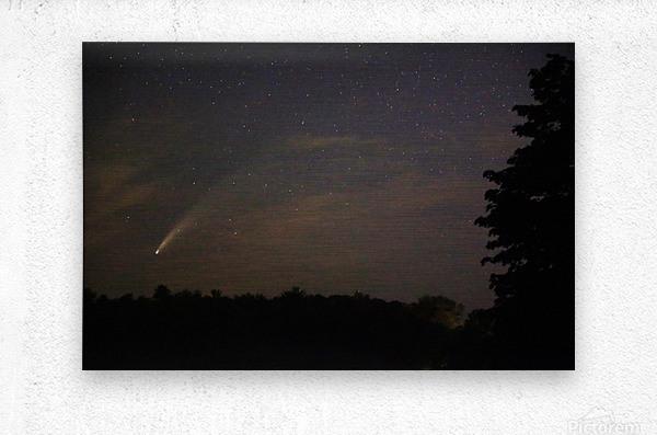 Neowise Comet 7.14.20  Metal print