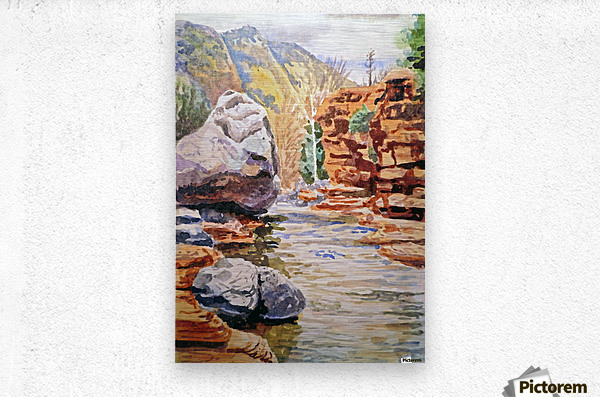 Sedona Arizona Slide Creek  Metal print