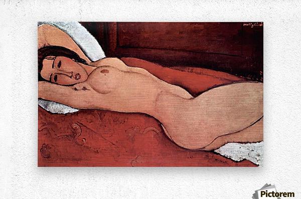 Modigliani - Nude  Metal print