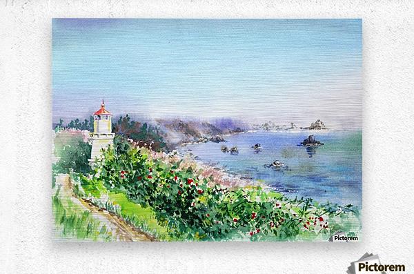 Lighthouse Trinidad California  Metal print