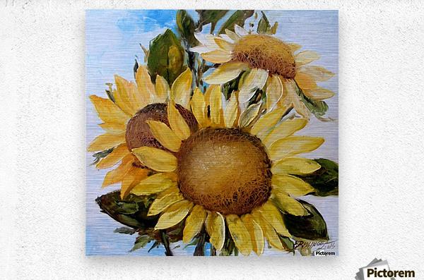 Floarea soarelui  Metal print