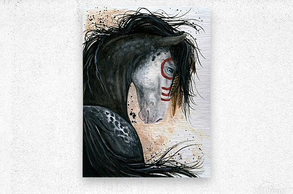 Appalossa Painted Horse  Metal print