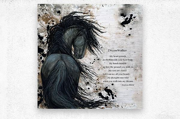 DreamWalker Dream Horse   Metal print