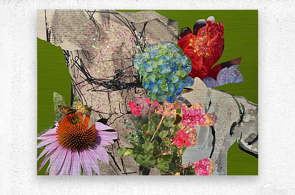 flowersandflex  Metal print