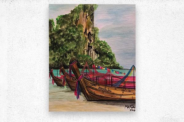 Collection THAILAND-Phi Phi island  Impression metal