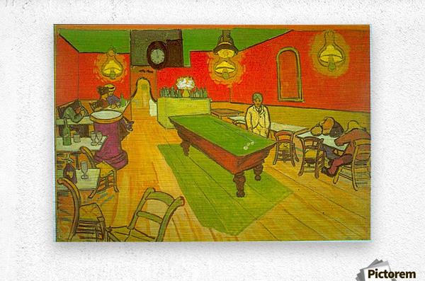 Night Cafe by Van Gogh  Metal print