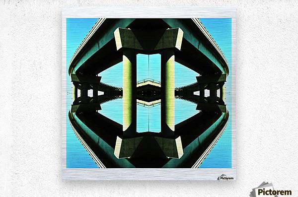 H  Metal print