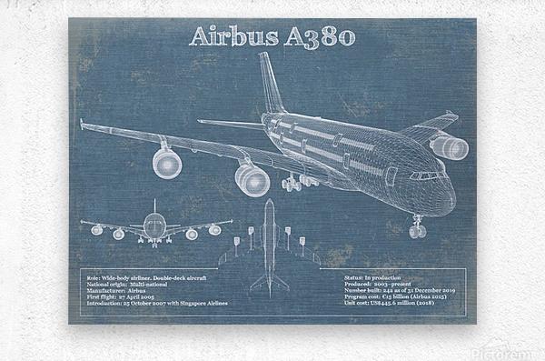 a380xd  Metal print
