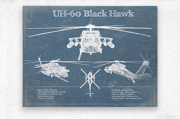 blackhawk  Metal print