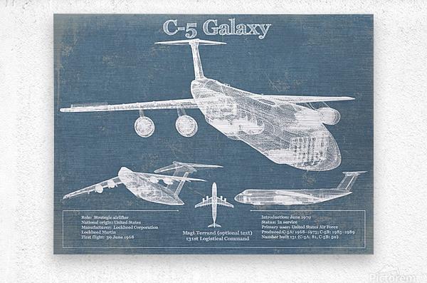 c 5  Metal print