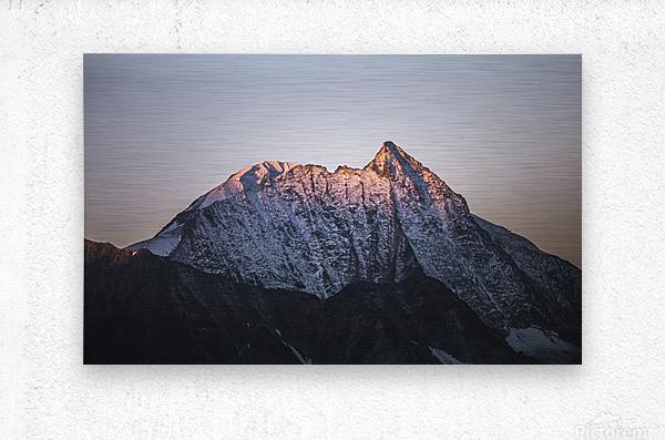 Awakening of the mountain  Metal print