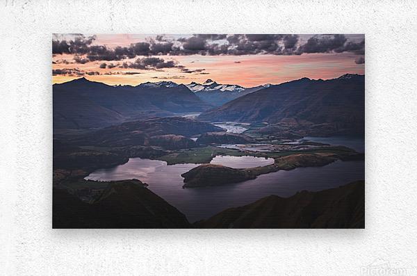 Tititea Mount Aspiring  Metal print